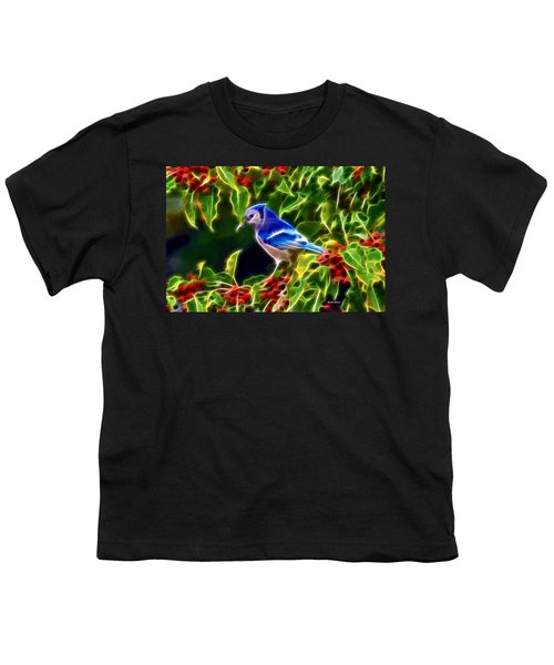 Hiding In The Berries Youth T-Shirt by Stephen Younts