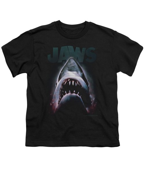 Jaws - Terror In The Deep Youth T-Shirt by Brand A