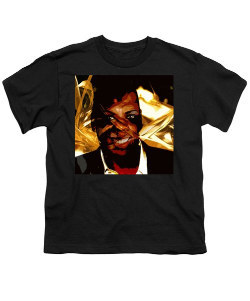 Jay-z Knowles Youth T-Shirt by Jean raphael Fischer