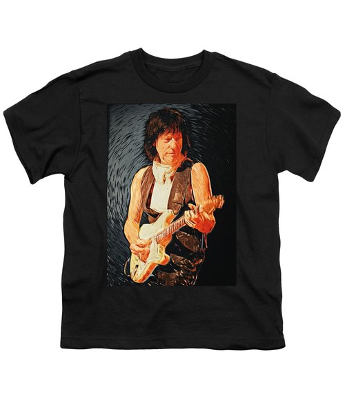 Jeff Beck Youth T-Shirt by Taylan Soyturk