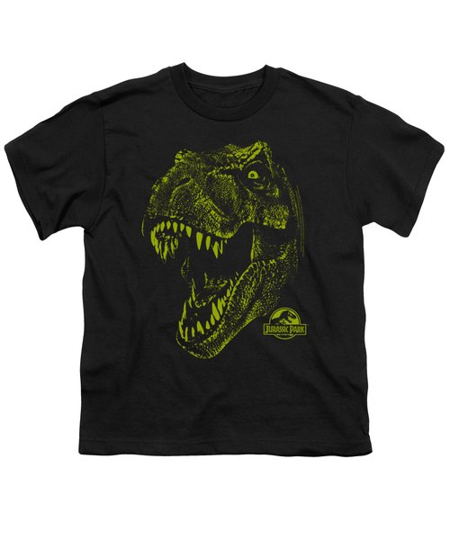 Jurassic Park - Rex Mount Youth T-Shirt by Brand A