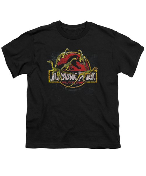 Jurassic Park - Something Has Survived Youth T-Shirt by Brand A