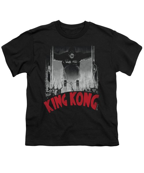 King Kong - At The Gates Poster Youth T-Shirt by Brand A