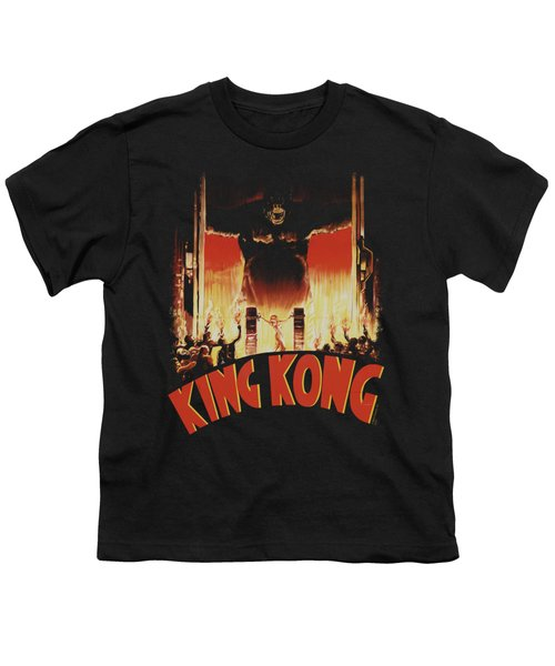 King Kong - At The Gates Youth T-Shirt by Brand A