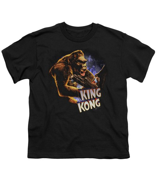 King Kong - Kong And Ann Youth T-Shirt by Brand A