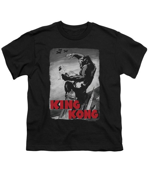 King Kong - Planes Poster Youth T-Shirt by Brand A