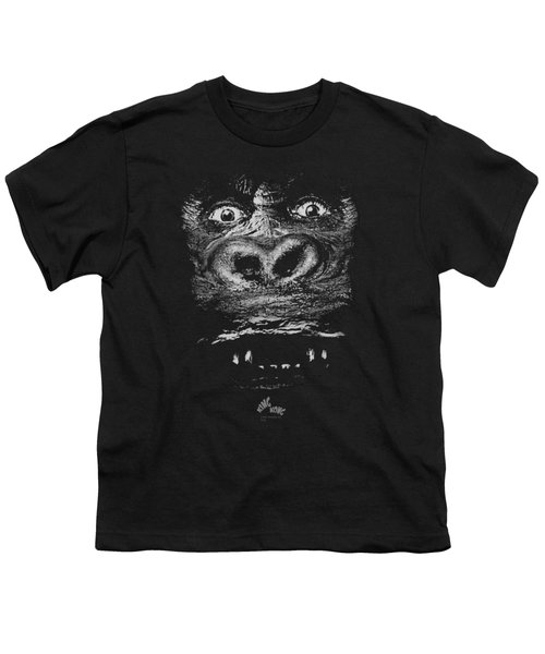 King Kong - Up Close Youth T-Shirt by Brand A