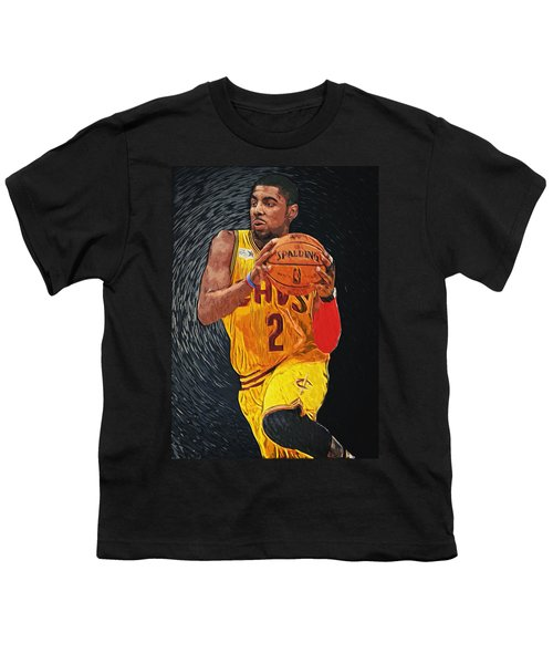 Kyrie Irving Youth T-Shirt by Taylan Soyturk