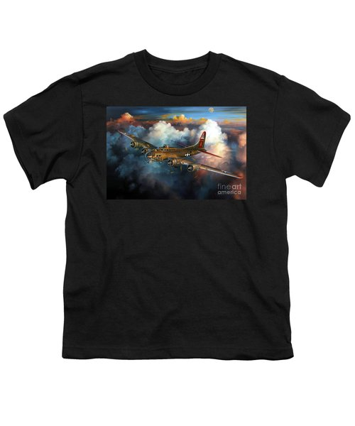 Last Flight For Nine-o-nine Youth T-Shirt by Randy Green