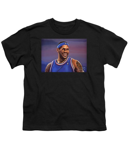 Lebron James  Youth T-Shirt by Paul Meijering