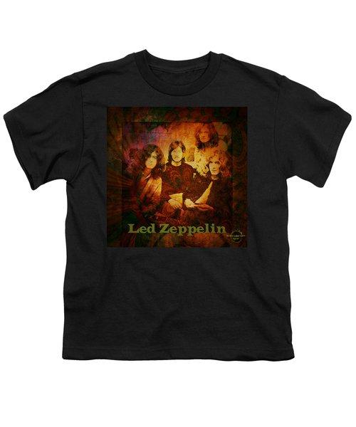 Led Zeppelin - Kashmir Youth T-Shirt by Absinthe Art By Michelle LeAnn Scott