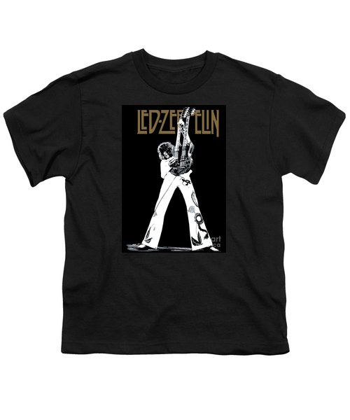 Led Zeppelin No.06 Youth T-Shirt by Caio Caldas