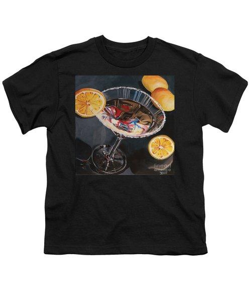 Lemon Drop Youth T-Shirt by Debbie DeWitt