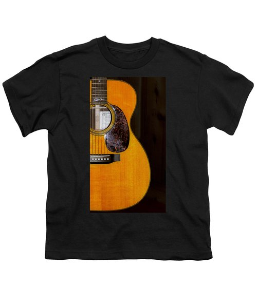 Martin Guitar  Youth T-Shirt by Bill Cannon