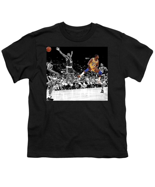 No Look Pass Youth T-Shirt by Brian Reaves