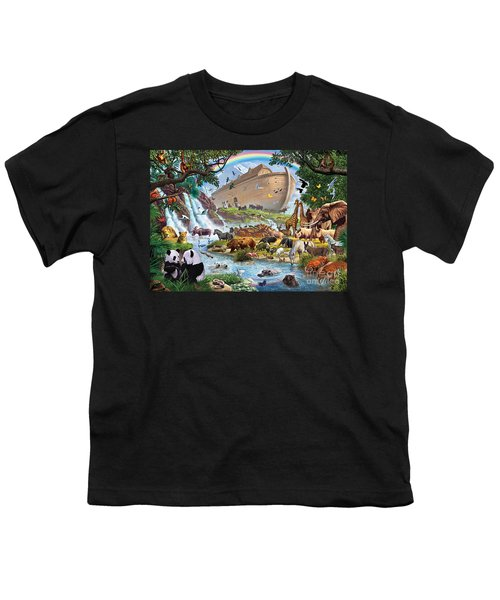 Noahs Ark - The Homecoming Youth T-Shirt by Steve Crisp