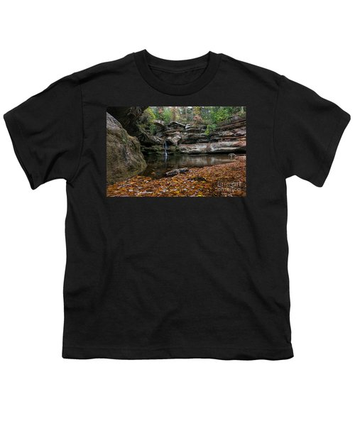 Old Mans Cave Youth T-Shirt by James Dean