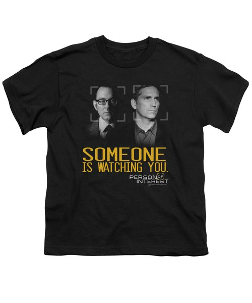 Person Of Interest - Someone Youth T-Shirt by Brand A