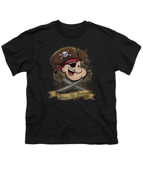 Popeye - Shiver Me Timbers Youth T-Shirt by Brand A