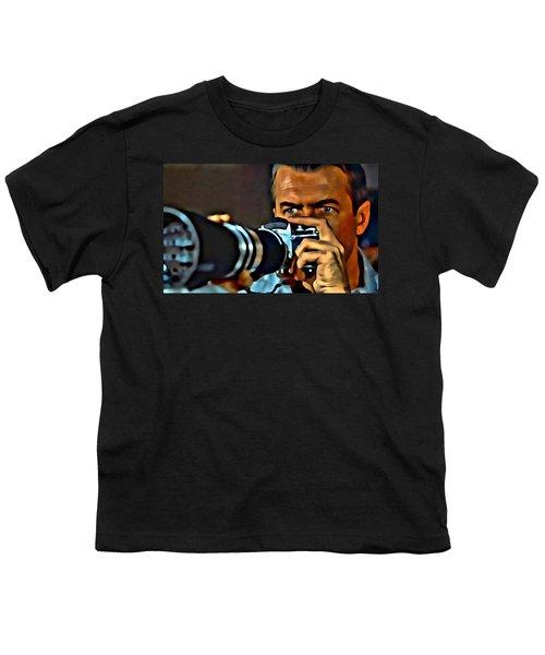 Rear Window Youth T-Shirt by Florian Rodarte