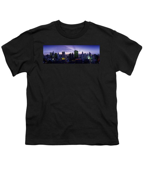 Skyscrapers, Chicago, Illinois, Usa Youth T-Shirt by Panoramic Images