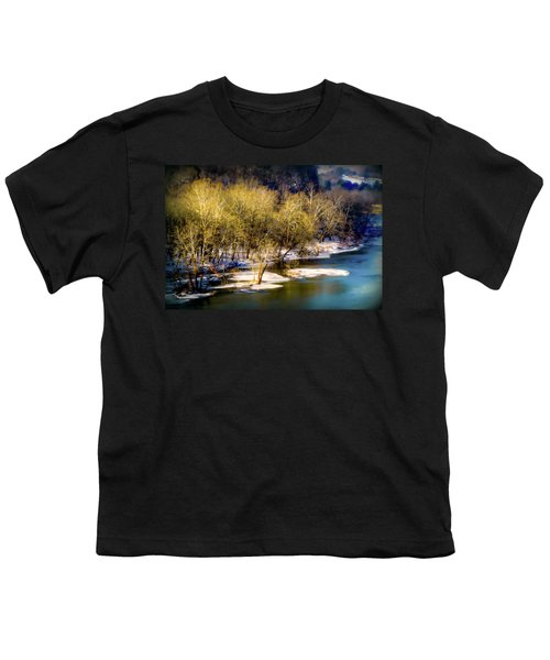 Snowy River Youth T-Shirt by Karen Wiles