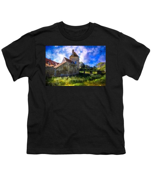 Spring Romance In The French Countryside Youth T-Shirt by Debra and Dave Vanderlaan