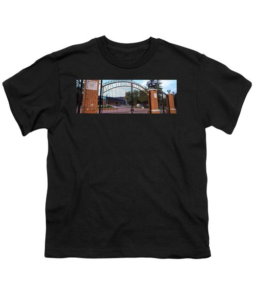 Stadium Of A University, Michigan Youth T-Shirt by Panoramic Images
