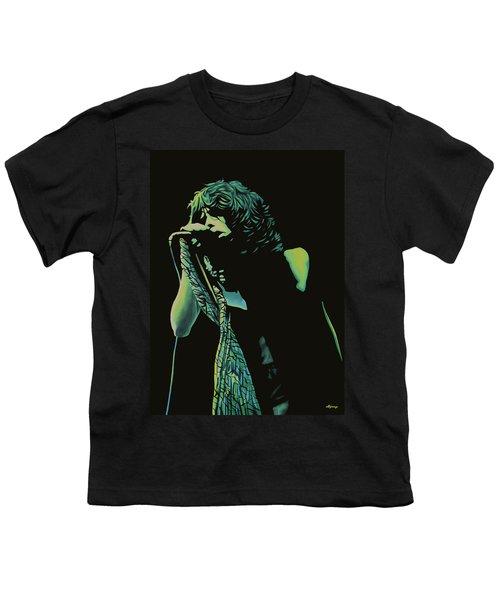 Steven Tyler 2 Youth T-Shirt by Paul Meijering