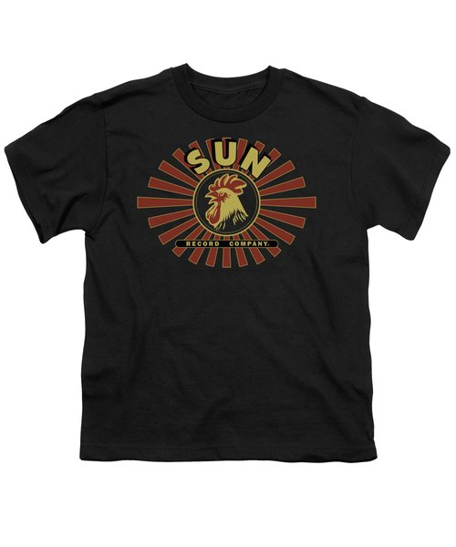 Sun - Sun Ray Rooster Youth T-Shirt by Brand A