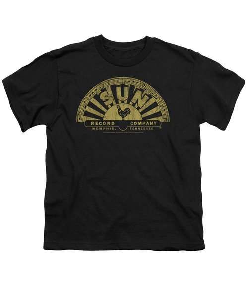 Sun - Tattered Logo Youth T-Shirt by Brand A