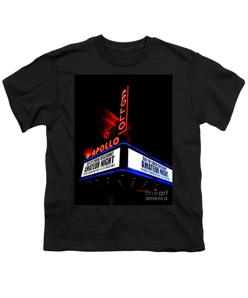 The Apollo Theater Youth T-Shirt by Ed Weidman