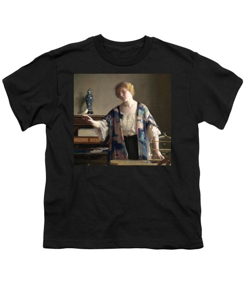 The Canary Youth T-Shirt by William McGregor Paxson