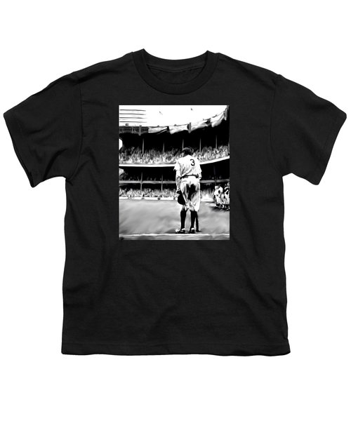 The Greatest Of All  Babe Ruth Youth T-Shirt by Iconic Images Art Gallery David Pucciarelli