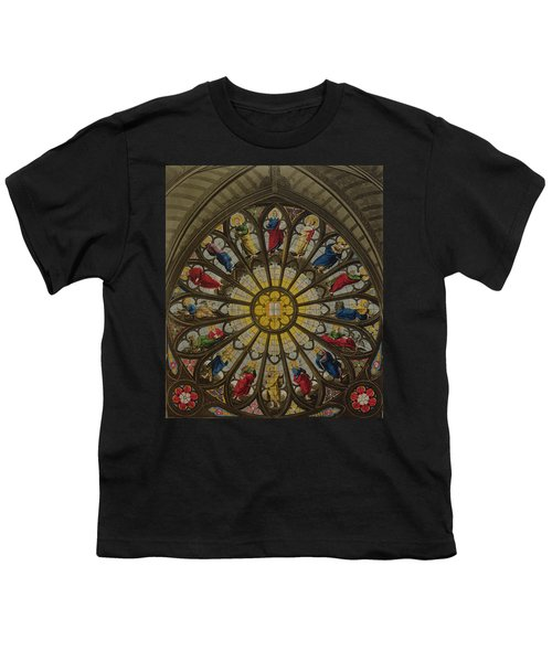 The North Window Youth T-Shirt by William Johnstone White