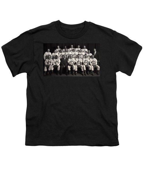 University Of Michigan - 1953 College Baseball National Champion Youth T-Shirt by Mountain Dreams