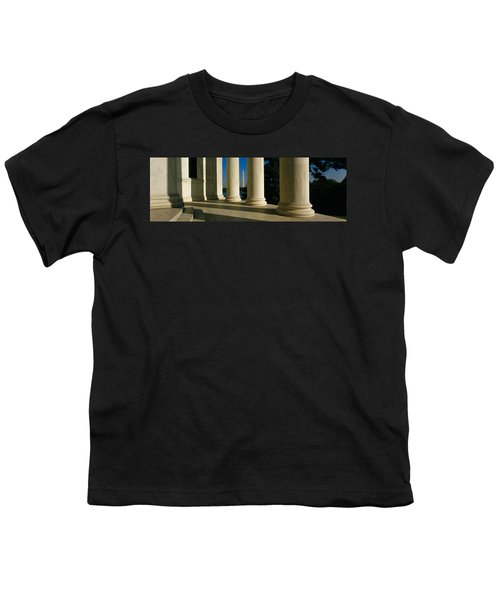 Usa, District Of Columbia, Jefferson Youth T-Shirt by Panoramic Images