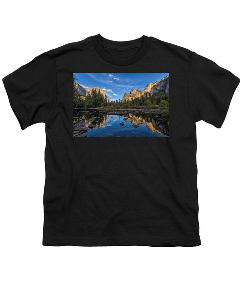 Valley View I Youth T-Shirt by Peter Tellone
