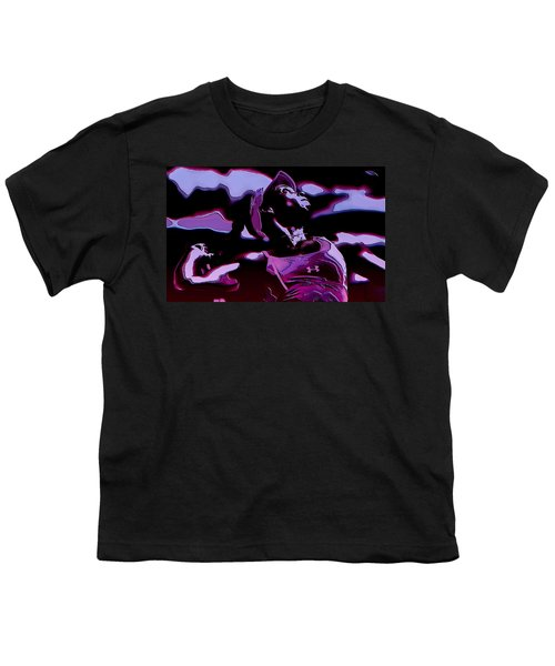 Venus Williams Queen V Youth T-Shirt by Brian Reaves