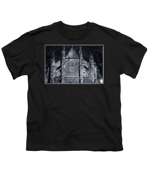 Westminster Abbey North Transept Youth T-Shirt by Joan Carroll
