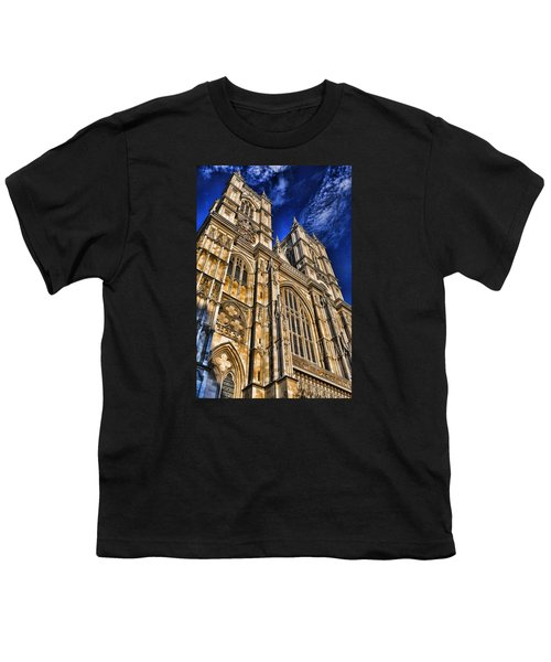 Westminster Abbey West Front Youth T-Shirt by Stephen Stookey