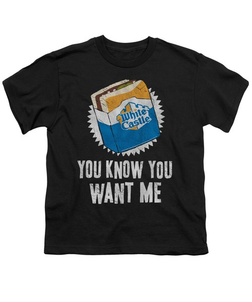 White Castle - Want Me Youth T-Shirt by Brand A