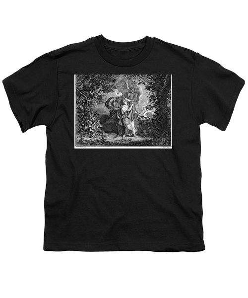 Atalanta And Meleager Youth T-Shirt by Granger
