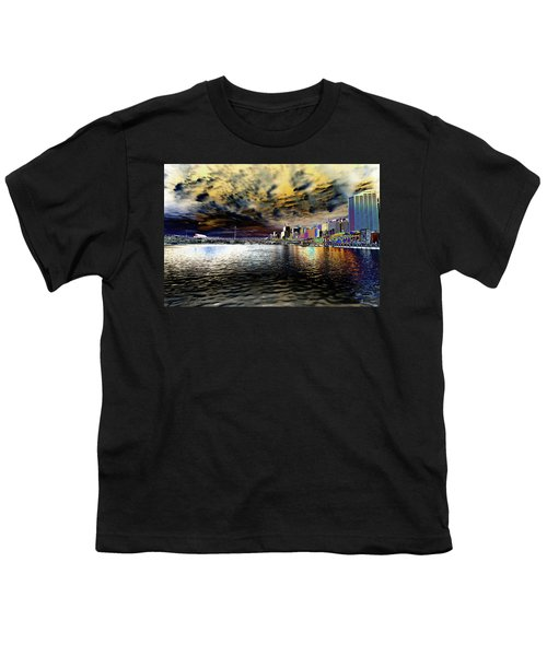 City Of Color Youth T-Shirt by Douglas Barnard