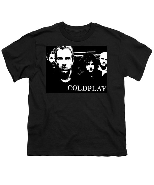 Coldplay Youth T-Shirt by Paula Sharlea