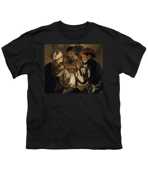 Concert Youth T-Shirt by Hendrick Ter Brugghen