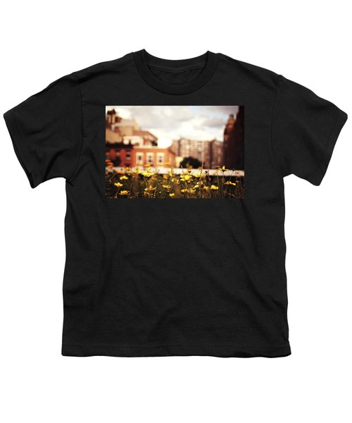 Flowers - High Line Park - New York City Youth T-Shirt by Vivienne Gucwa