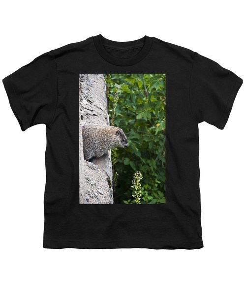 Groundhog Day Youth T-Shirt by Bill Cannon