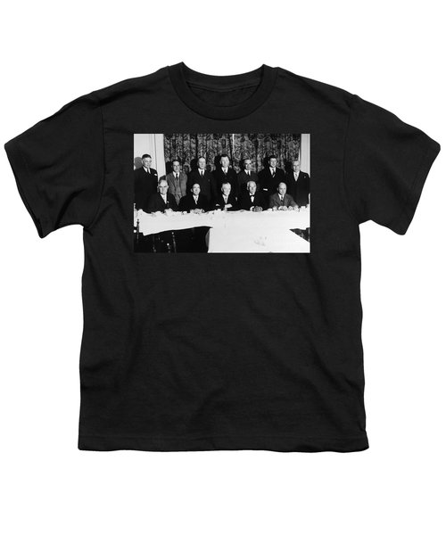 Sports Luncheon, 1930 Youth T-Shirt by Granger