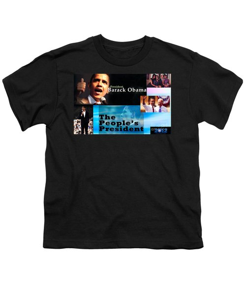 The People's President Youth T-Shirt by Terry Wallace